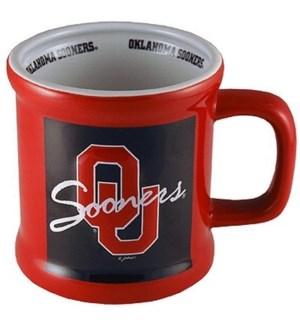 Oklahoma Sooners Mug Relief Logo