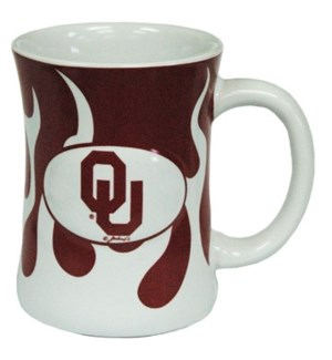 OU Mug W/Flames