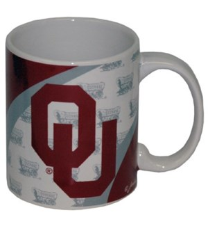 OU Ceramic Vortex Mug