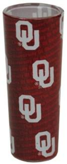 OU Tall Shadow Shotglass