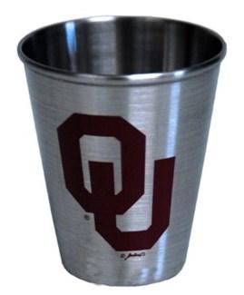 OU Steel Shotglass