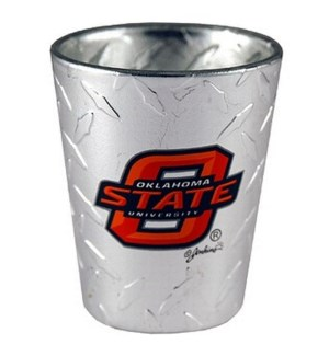 OSU Diamond Plated Shotglass