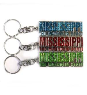 MS Diamond Keychain