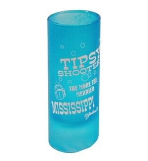 MS Tipsy Shot Glass