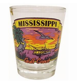 MS Gulf Coast Shot Glass