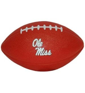 Ole Miss Foam Football