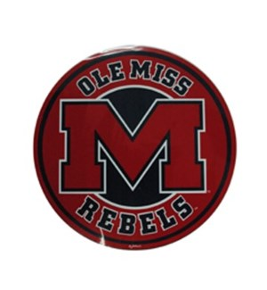 Ole Miss Car Magnet