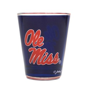 Ole Miss Shotglass