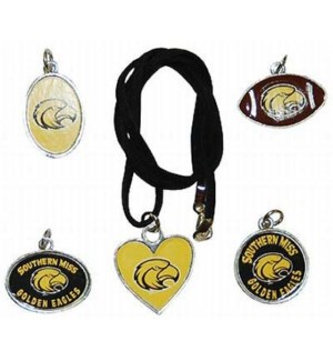 Southern Miss Suede Necklace