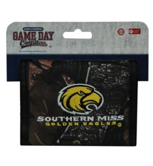 Southern Miss Bi-Fold Wallet