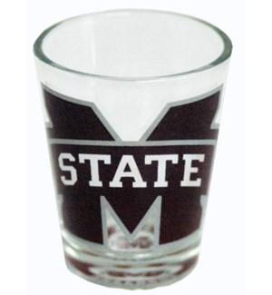 MSU Bullseye Shot Glass