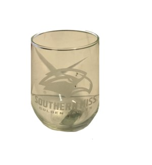 Southern Miss Wine Glass