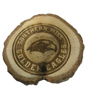 Southern Miss Wooden Magnet