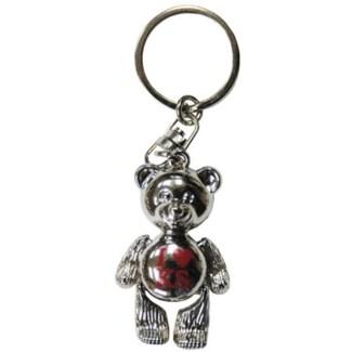 Kansas Teddy Bear Keychain
