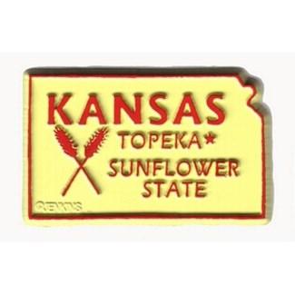 Kansas Sunflower State Magnet