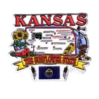 Kansas Cities Magnet