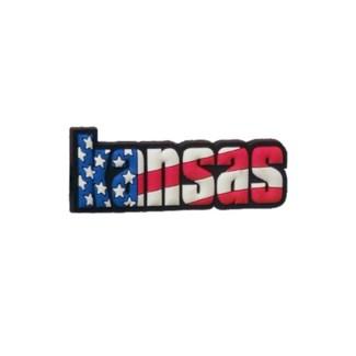 Kansas Festive Magnet