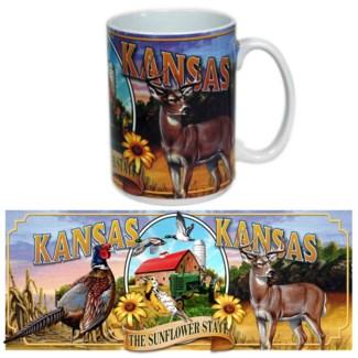 Kansas Mural Mug