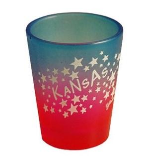 Kansas Star Shot Glass