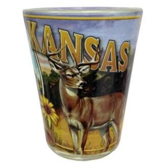 Kansas Mural Shot Glass