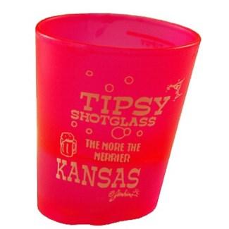 Kansas Tipsy Shot Glass