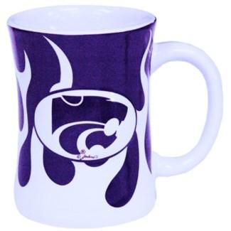 Kansas Wildcats Flame Mug