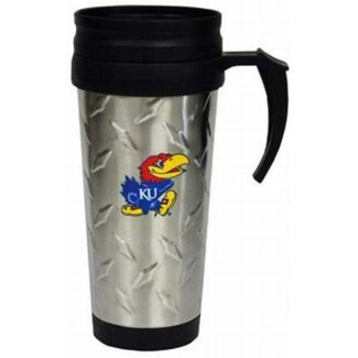 Kansas Jayhawks Travel Mug
