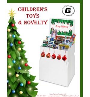 Christmas Toy & Novelty Floor Display