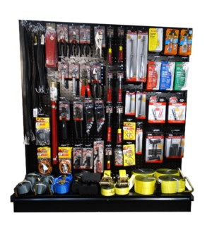4' Truck Supply Section (Tools, Straps, Glues)