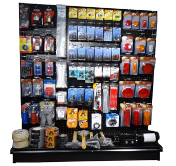 4' Truck Supply Section (Lights, Locks, Tapes, Etc.)