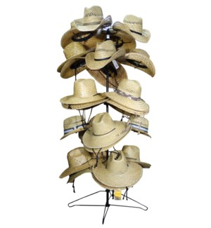 Straw Hat Rack