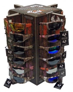 Longleaf Camo Sunglasses Display