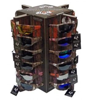 Longleaf Camo Sunglasses Display