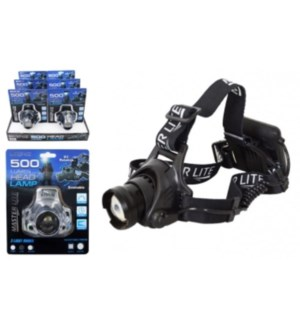 500 Lumen head lamp