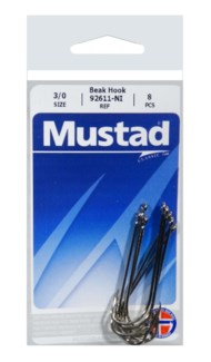 Mustad Long Shank 3/0 Hook