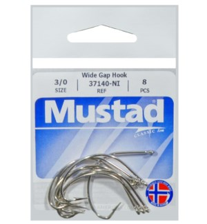 Mustad Wide Gap 3/0 Hook