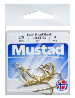 Mustad Bait Shank 1/0 Hook