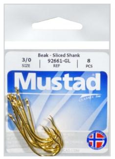 Mustad Bait Shank 3/0 Hook