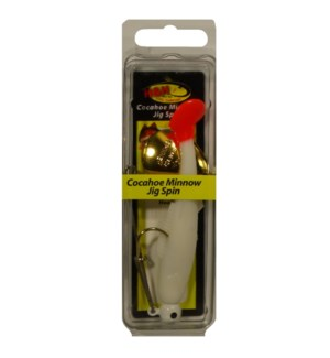 Cocahoe Minnow Jig Spin - Chartreuse