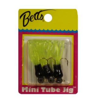 Mini Tub Jig - Black & Chartreuse