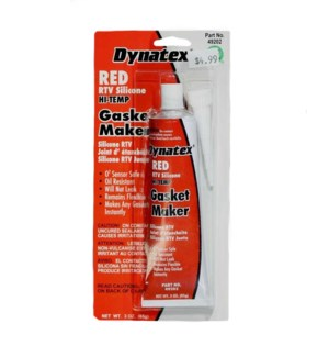 Red RTV Silicone Gasket