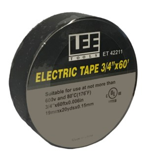 "Electrical Tape - 3/4""x60'"