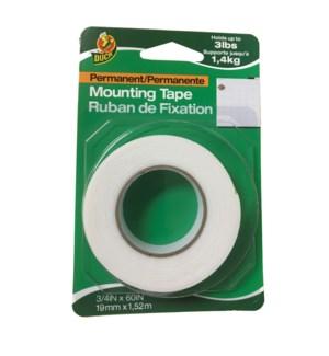 """3/4"""" x 60"""" Mounting Tape"""