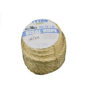 50' Sisal Tie Rope