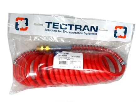 Tectran 15' Air Coil - Red