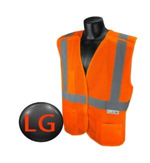Hi Visibility Vest - Orange LG