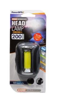LED Cap Light Black