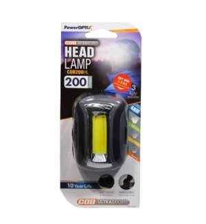 LED Cap Light Black