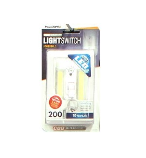LED Light Switch White