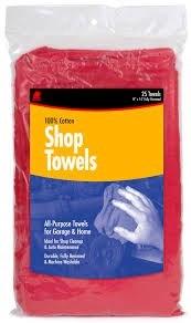 Shop Towels (4 pack)